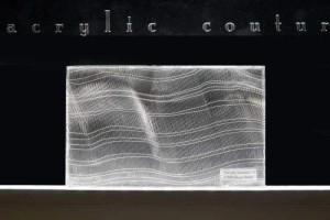 acrylic couture Cancello Silber